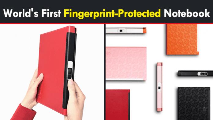 Meet The World's First Fingerprint-Protected Notebook