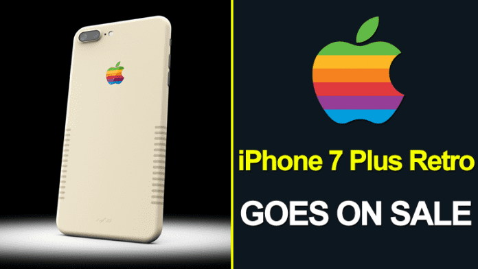 Meet The iPhone 7 Plus Retro Edition With Vintage Mac Design