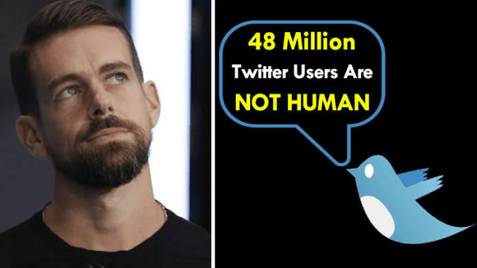 Nearly 48 Million Twitter Users Are Not Human