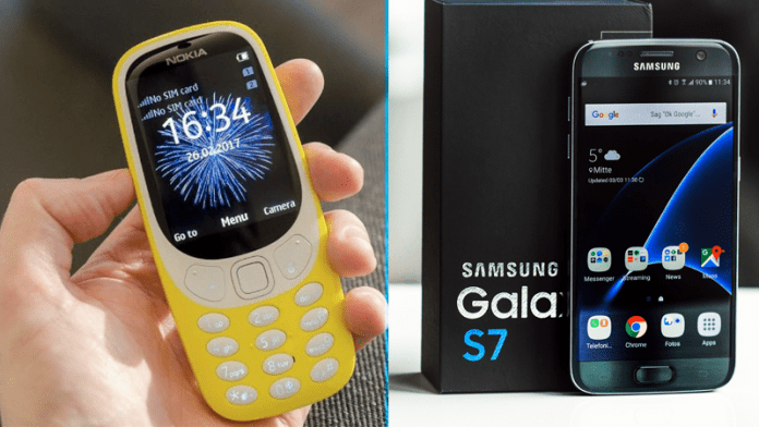 OMG! Test Shows Nokia 3310 2MP Camera Is Better Than Galaxy S7 12MP Camera