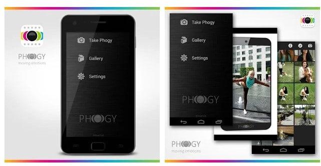 Install Phogy 3D Camera App
