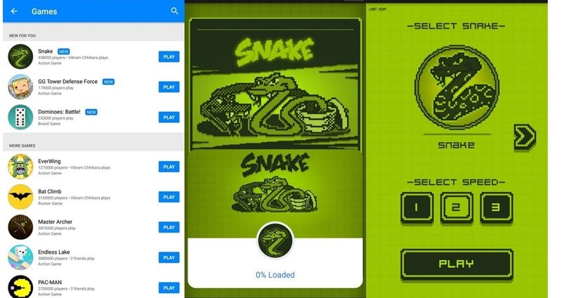 Play Nokia's Snake Game on Facebook Messenger