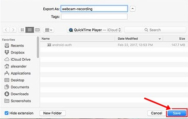 Record Your Mac's Webcam Video