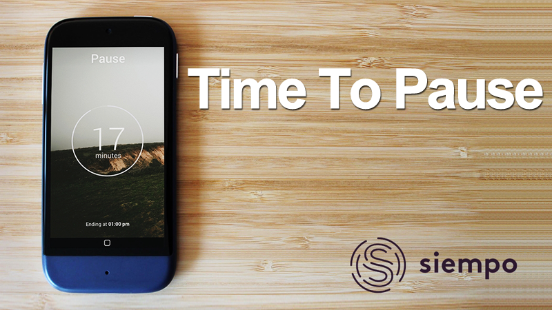 Siempo: A Distraction-Free Smartphone That Will Leave You In Peace