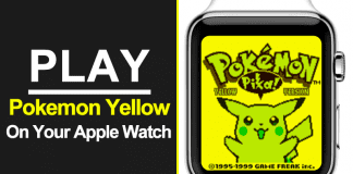 Someone Ported 'Pokemon Yellow' To The Apple Watch