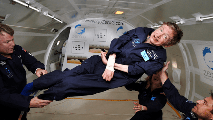 75-Year-Old Stephen Hawking Is Going To Space