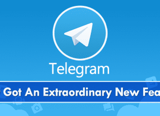 Telegram Messenger Just Got An Extraordinary New Feature