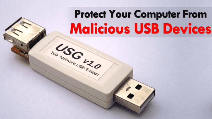 This Device Protects Your Computer From Malicious USB Devices