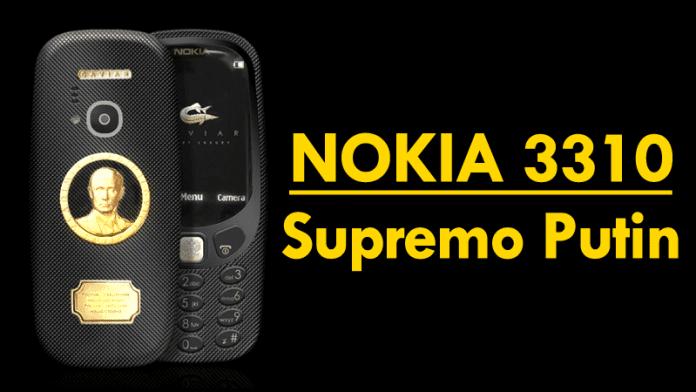 This Nokia 3310 Supremo Putin Costs 30 Times The Original Nokia 3310