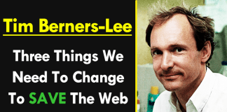 Tim Berners-Lee: Here Are Three Things We Need To Change To Save The Web