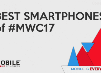 Top 5 Best Smartphones Of The MWC 2017