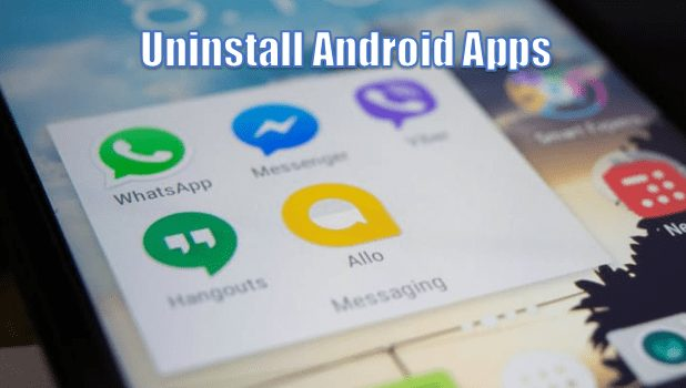Uninstalling Apps That You Don't Use