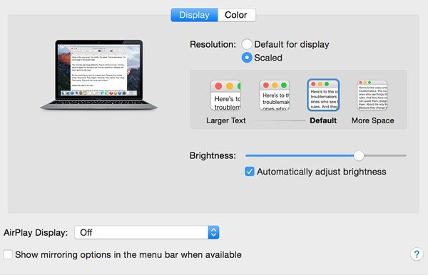 Use 4K and 5K displays with your Apple Mac