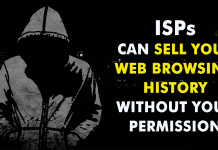 ISPs Can Now Sell Your Web Browsing History Without Your Permission