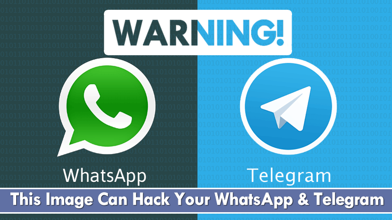 Warning! This Image Can Hack Your WhatsApp And Telegram