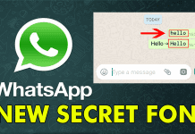 Here's How You Can Use The Secret Font In WhatsApp Chat