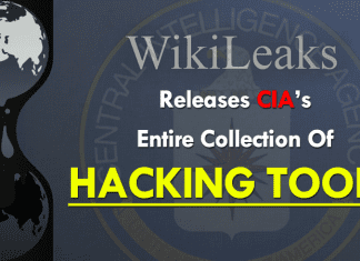 WikiLeaks Publishes CIA's Entire Collection Of Hacking Tools