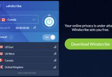 Windscribe Best Free VPN Offering 50GB Free Data To All