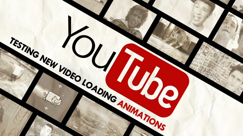 YouTube Is Testing Three New Video Loading Animations