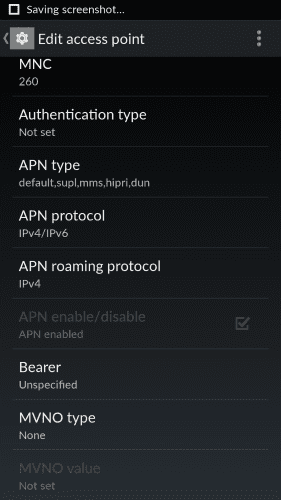 Make APN Protocol To iPv4/iPv6