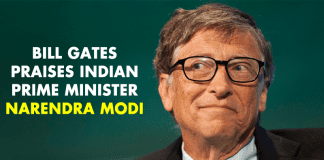 Bill Gates Praises Indian Prime Minister Narendra Modi!