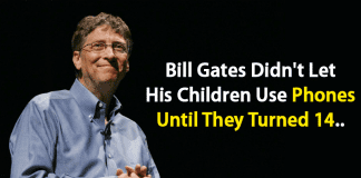 Bill Gates Didn't Let His Children Use Phones Until They Turned 14