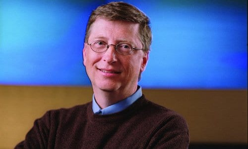Bill Gates has an IQ of approximately 160