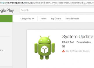 "Google Just Removed ""System Update"" Malware Living On Play Store For 3 Years"