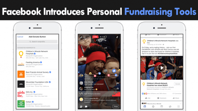 Facebook Just Introduced A New Tool To Raise Money