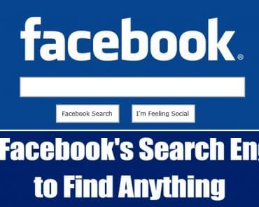 How To Use Facebook's Search Engine to Find Anything