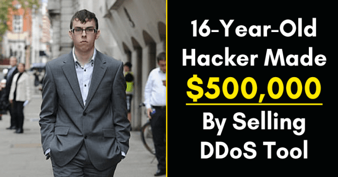 16-Year-Old Hacker Made $500,000 By Selling DDoS Tool