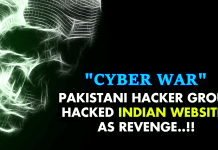 Pakistani Hacker Group *HACKED* Indian Websites As Revenge!