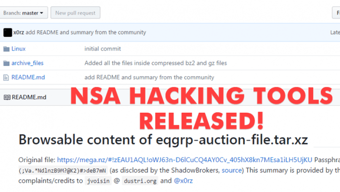 NSA Hacking Tools Leaked Online! Shadow Brokers Reveal Password For Encrypted Folder