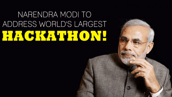Narendra Modi To Address World's Largest HACKATHON!