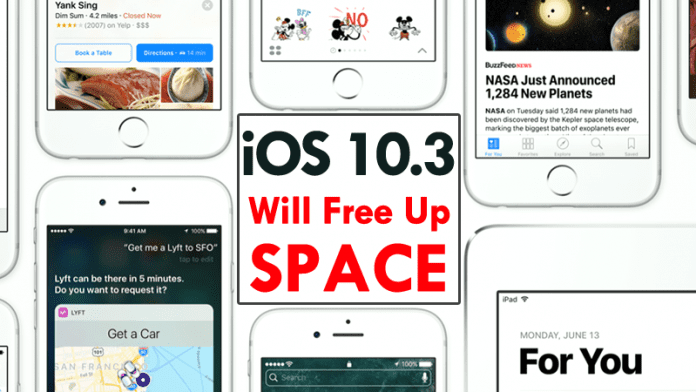 Hidden Feature In iOS 10.3 Update Will Free Up Space On Your iPhone