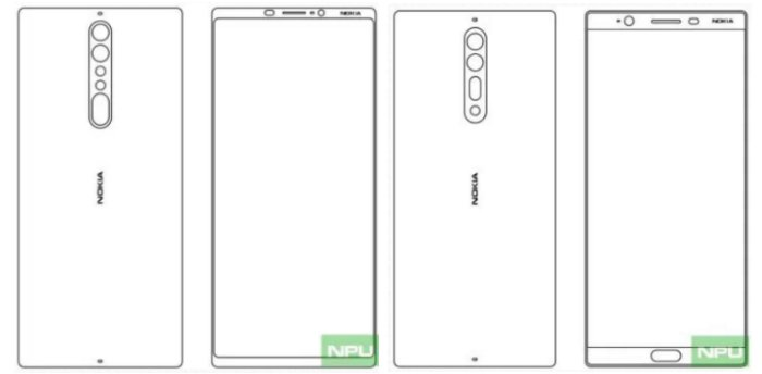 IMG Nokia - Nokia 9 & Nokia 8 Get Leaked In Images, Showcase Thin Bezels, Dual Cameras