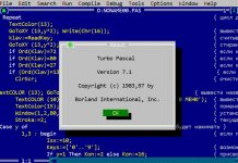 Install Turbo Pascal on your Android Phone or Tablet