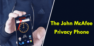 John McAfee Teases Pic Of His 'World's First Truly Private Smartphone'