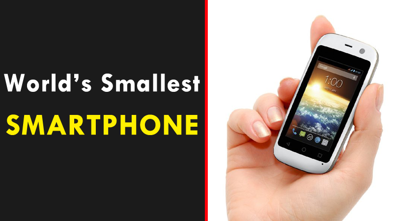 Meet The World's Smallest Smartphone