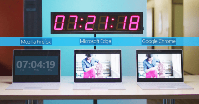 Microsoft Again Shows That Edge Is More Efficient Than Chrome