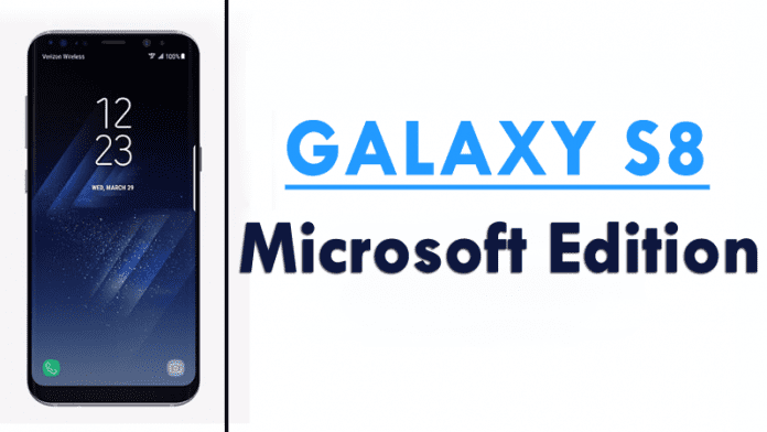 Microsoft Is Selling Its Own Samsung Galaxy S8 Microsoft Edition