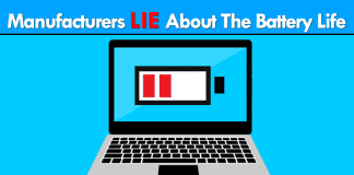 Most Manufacturers 'Lie' About The Battery Life Of Laptops