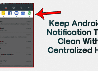 How to Keep Android Notification Tray Clean and Clear with Centralized Hub
