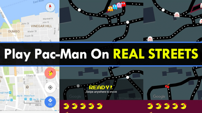 Now Google Maps Lets You Play Ms. Pac-Man On Real Streets