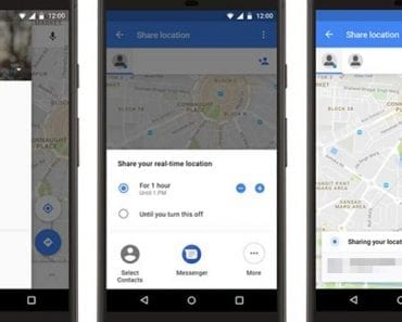 Share Your Real-time Live Location With Anybody Using Facebook Messenger