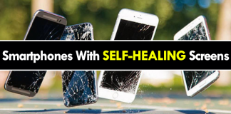 Smartphones With SELF-HEALING Screens To Be A Reality Soon