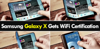 The Alleged Samsung Galaxy X Gets WiFi Certification