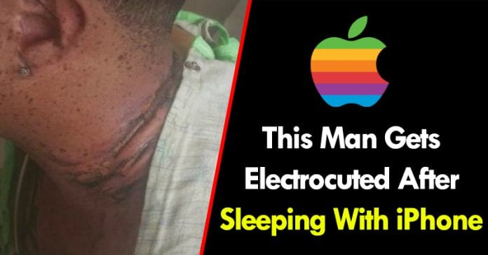 This Unlucky Man Gets Electrocuted After Sleeping With iPhone