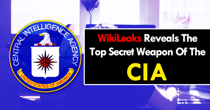 WikiLeaks Reveals The Top Secret Weapon Of The CIA