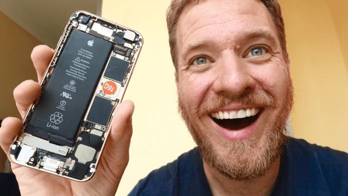 Man Builds iPhone 6s From Spare Parts Bought On The Street